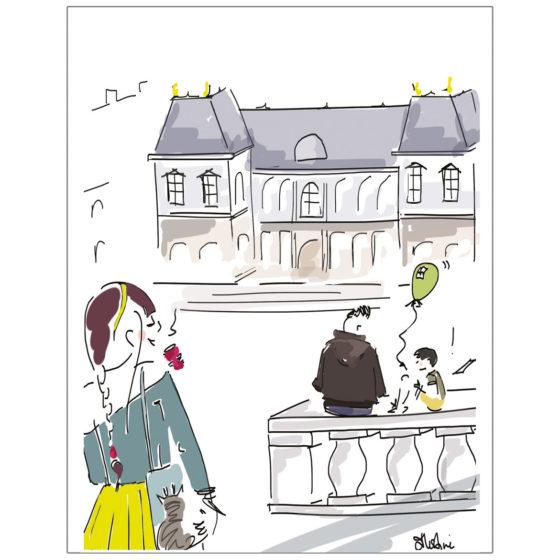carte postale parlement de bretagne