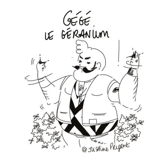 géré le géranium