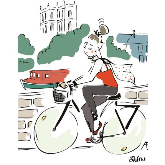 ballade à vélo rennes